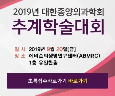 2019 춘계학술대회